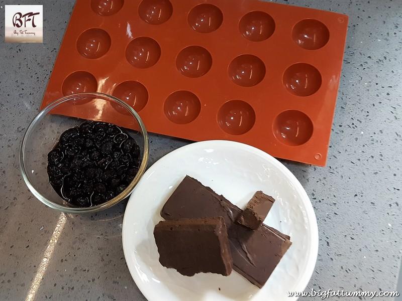 Making of Rum and Raisin Chocolate