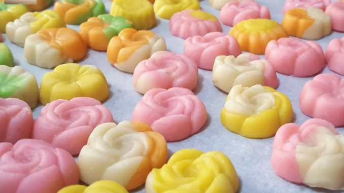 Quick Marzipan (uncooked)