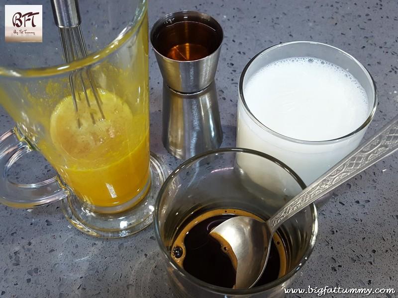 Making of Massado / Egg Flip / Eggnog