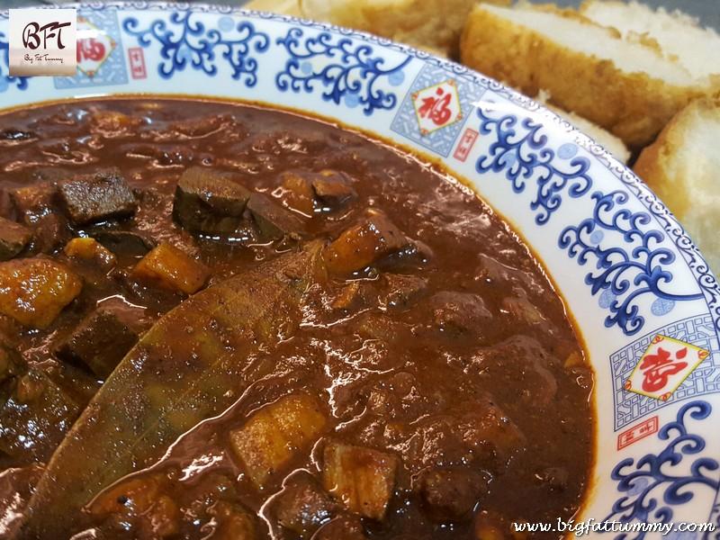 Preparation of Pork Meat Liver Masala / Quick Goan Sorpotel