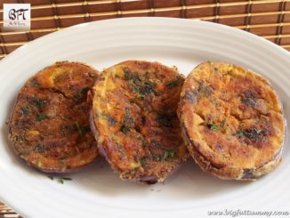 Fried Brinjal Slices