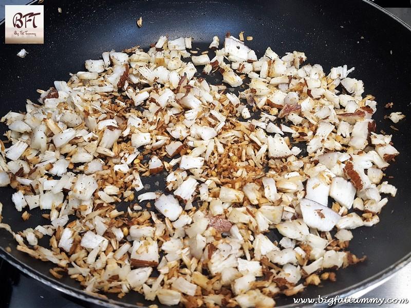 Preparation of Prawn Xec Xec (Goan prawn curry)