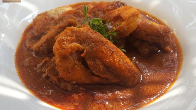Prawn Xec Xec (Goan prawn curry)