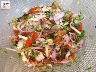 Dry Mackerel Salad