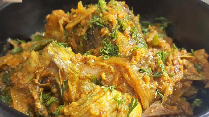 Kingfish Head & Tail Sukkem (dry coconut prep)