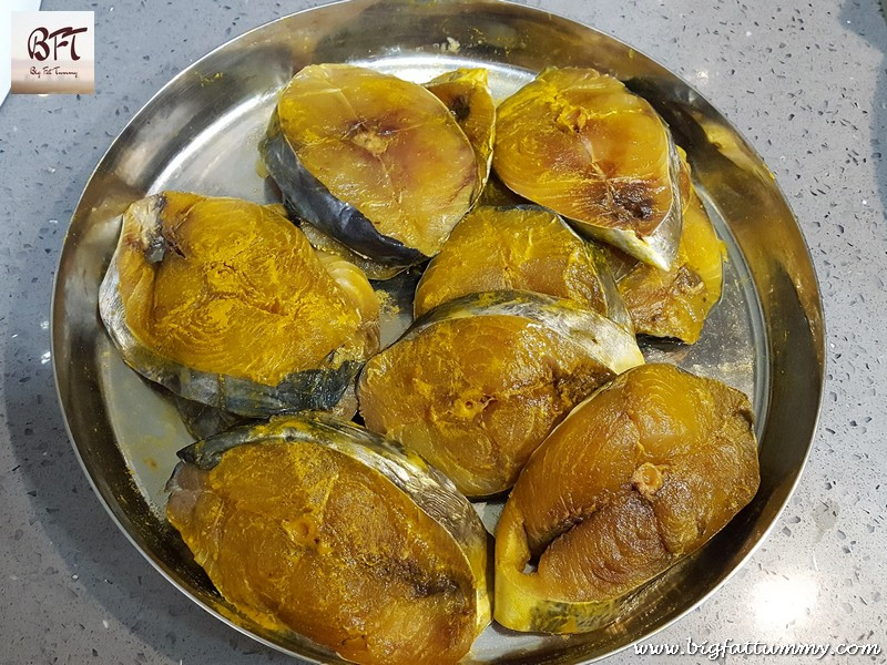Preparation of Goan Kingfish Molho