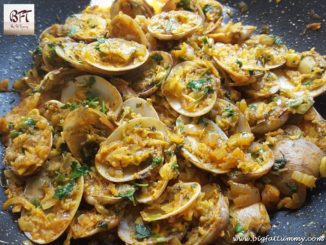 ShellFish Sukkem (Goan preparation of Clams / Kube / Tisryo)