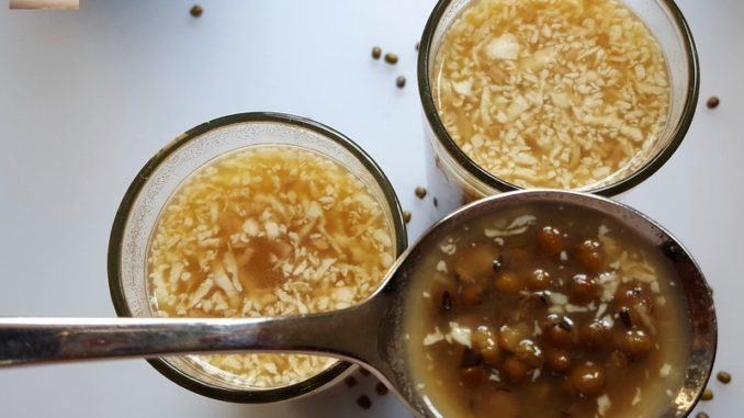 Chingya Caldo - A Goan Protein Drink
