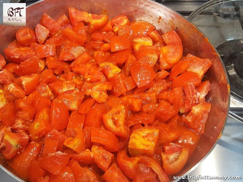 Preparation of Hot & Sweet Tomato Ketchup
