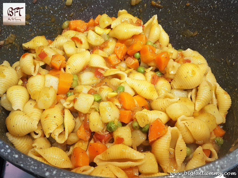 Preparation of Sea Food Stew