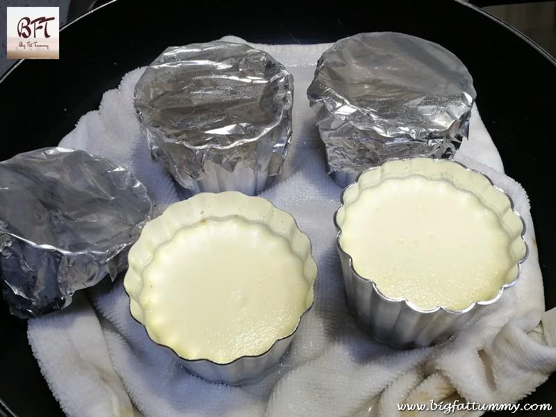 Preparation of Caramel Yogurt Pudding