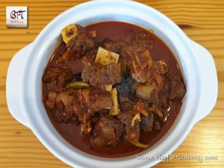 Beef Aad Maas / Goan Beef on the bone