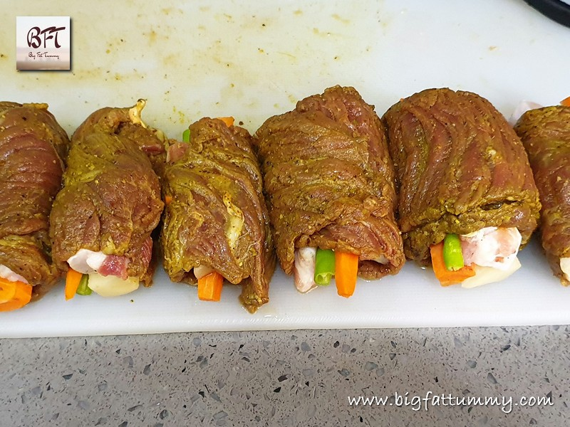 Preparation of Beef Rolado / Roulade