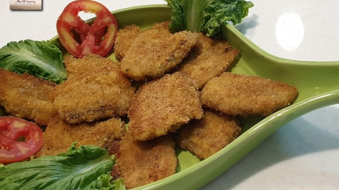 Crumb Fried Pork
