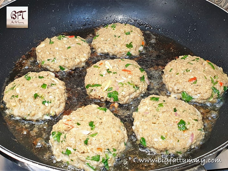 Preparation of Raw Beef Mince Cutlet