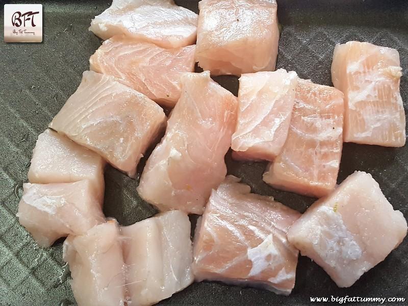 Preparation of Ginger Honey Fish