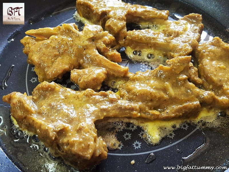 Preparation of Fried Mutton Chops