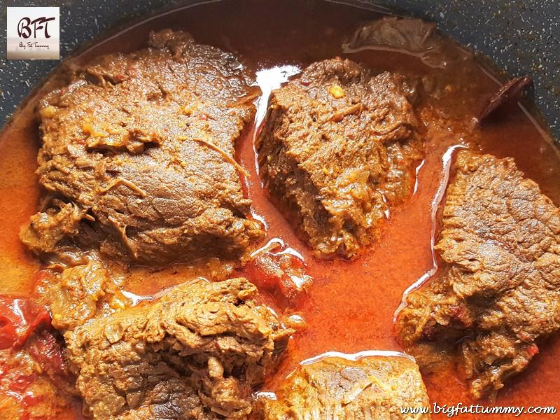 Making of Goan Red Beef Roast