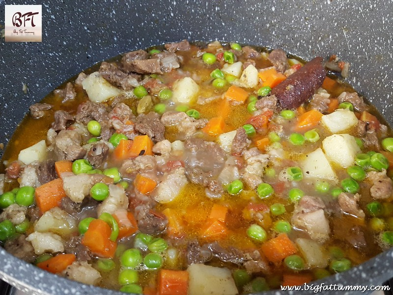 Preparation of Pork and Beef Stew
