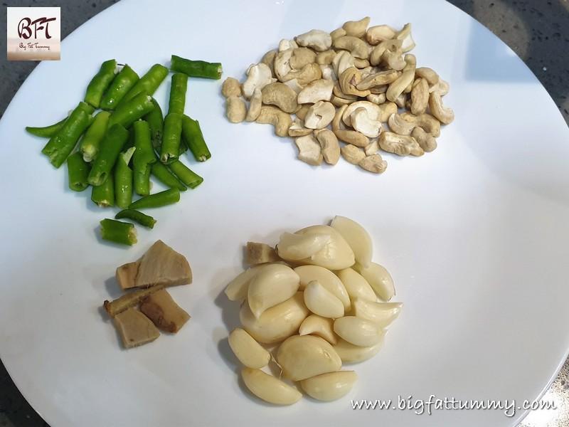 Making of Chicken Nawabi
