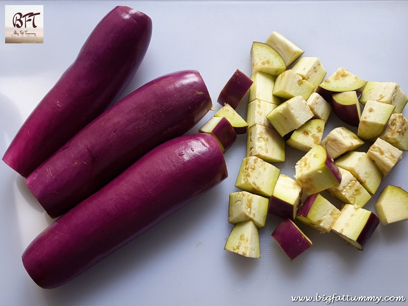 Preparation of Sweet Brinjal Pickle