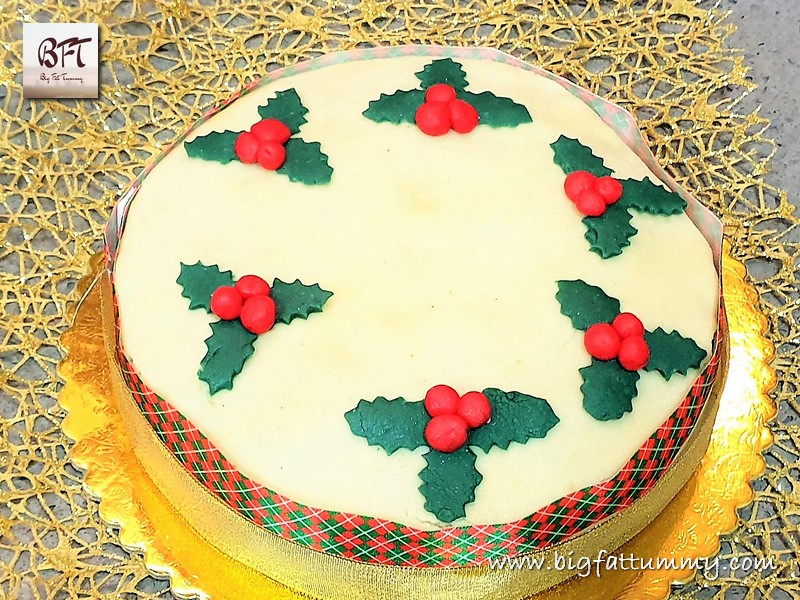 Making of Traditional Christmas Cake
