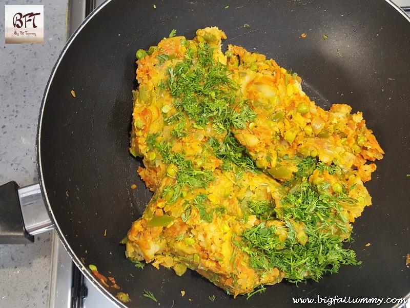 Preparation of Vegetable Croquette