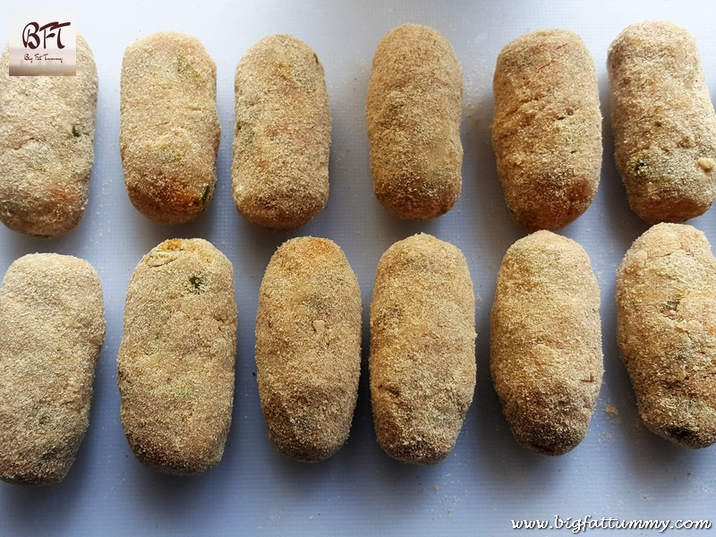 Preparation of Vegetable Croquette