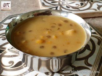 Mangaane - Goan Sweet Sago- Split Chickpea Porridge