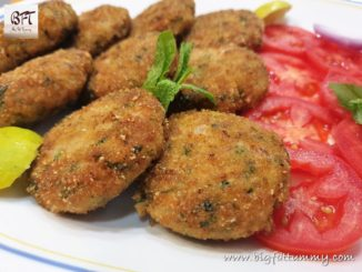 Raw Mince Chicken Cutlets