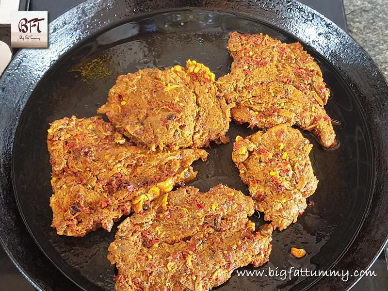 Preparation of Beef Masala Fried