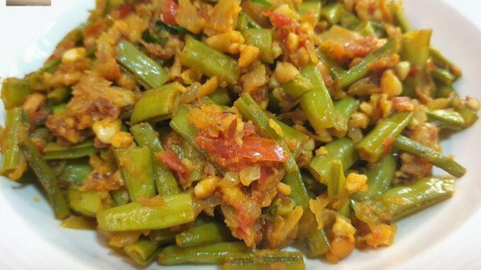 Cluster Bean Peanut Bhaji