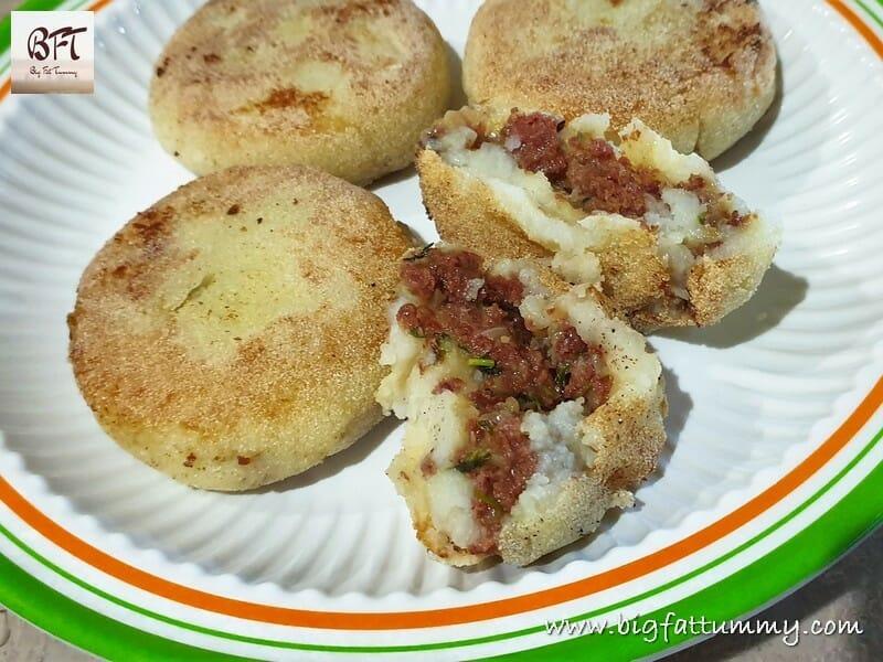Corned Beef Potato Chops