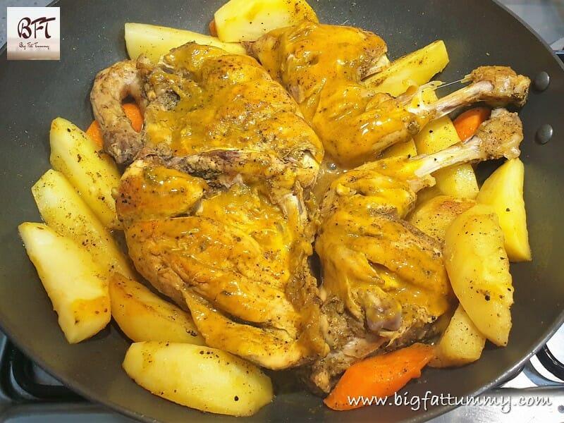 Preparation of Chicken Pan Roast