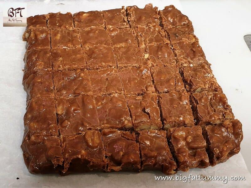 Choco Walnut Fudge