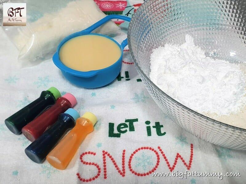 Preparation of Coconut Ice Snowballs