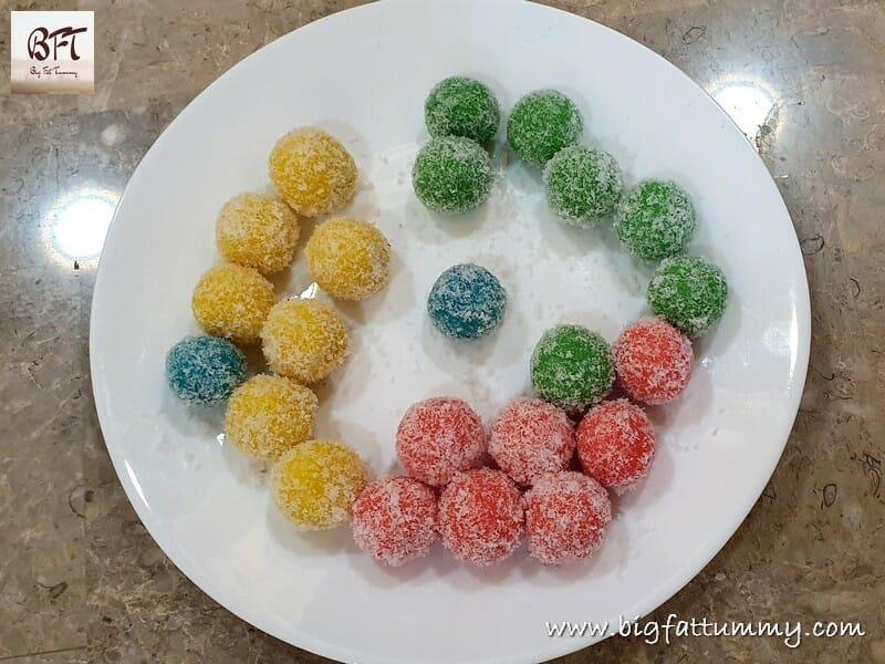 Coconut Ice Snowballs