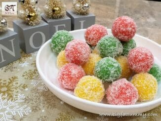 Coconut Ice Snowballs