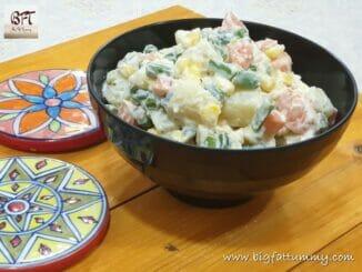 Mixed Vegetable Mayo Salad