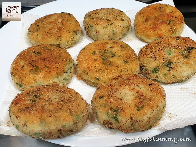 Cheese Potato Chops