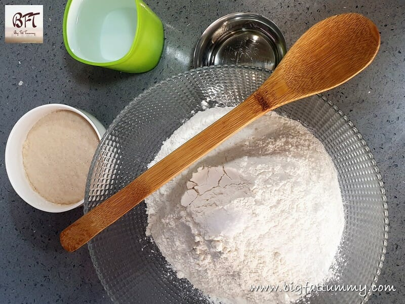 Making of Bread Loaf - No Knead