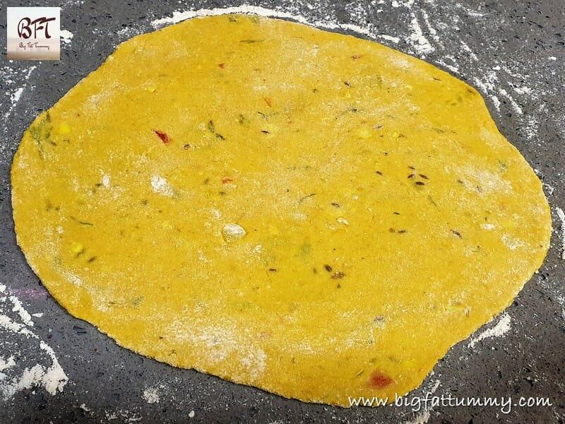 Making of Dal Chapati