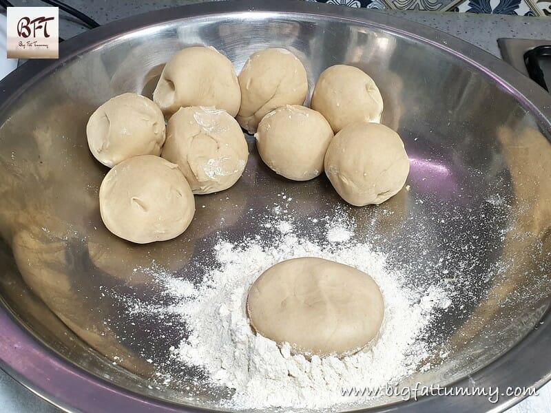 Preparation of Wheat Flour Tawa Parathas