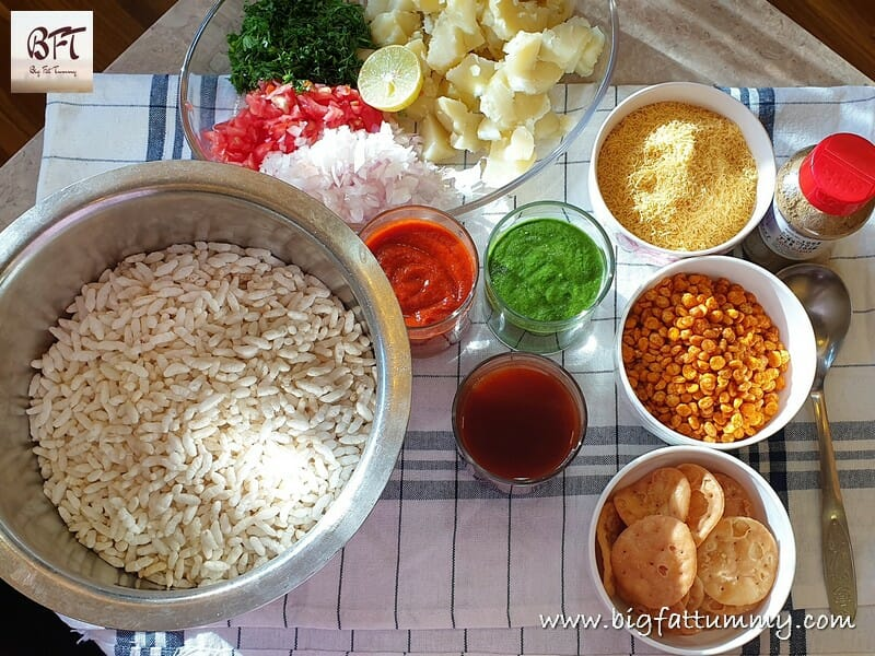 Making of Bhel Puri