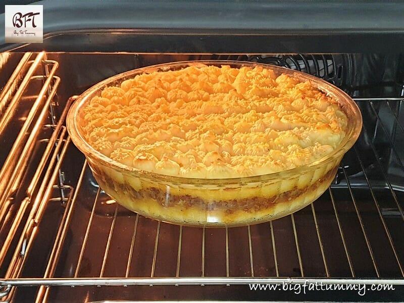 Preparation of Goan Beef Mince Pie