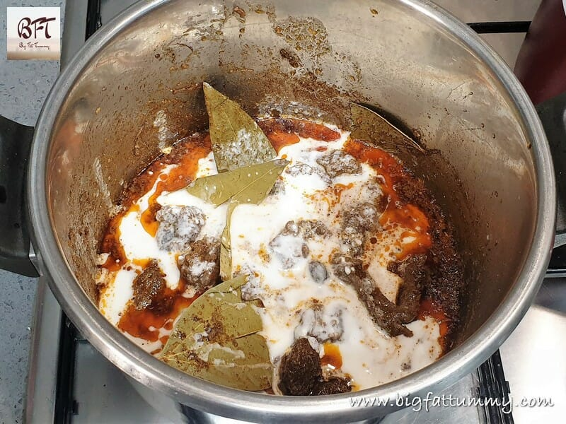 Preparation of Beef Biryani