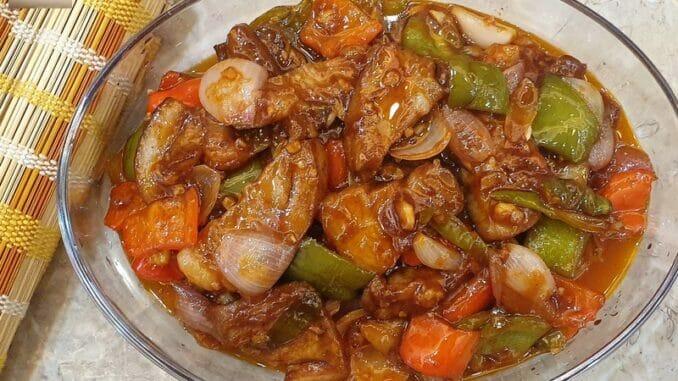 Pork Chilly Garlic