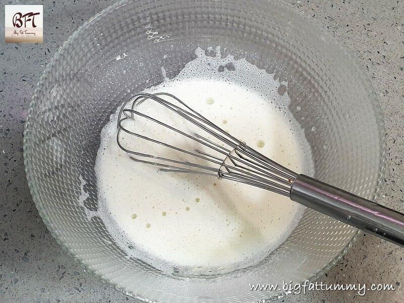 Making of Milk Powder Cake
