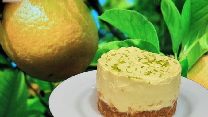 No Bake Lime Cheese Cake