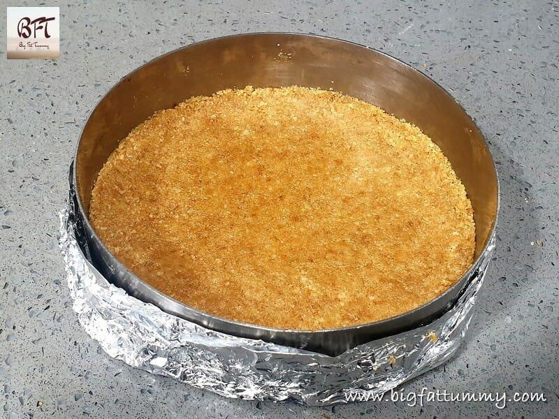 Making of No Bake Yoghurt Cheesecake